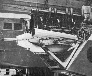 Blériot 127 Engine Mount L'Aéronautique July,1929