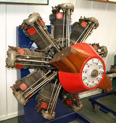 Bristol Jupiter VII Engine on Which the Nakajima Kotobuki 2 Was Based