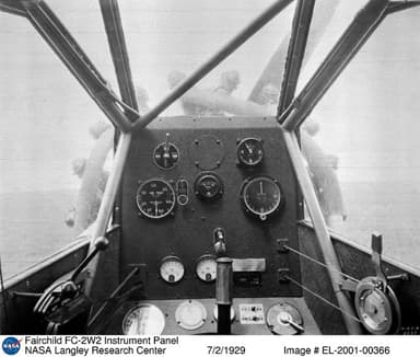Cockpit view From an FC-2W2