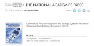 Commercial Aircraft Propulsion and Energy Systems Research- Reducing Global Carbon Emissions (2016)