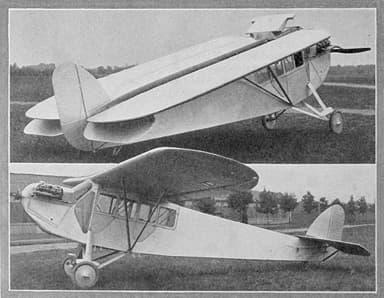 Fairchild FC-1 Aero Digest July 1926