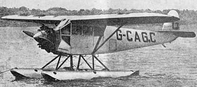 Fairchild FC-2 L'Air (October 1,1927)