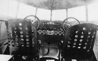 Farman F.180 Cockpit Photo NACA Aircraft Circular No.88