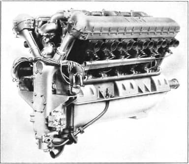 Fiat AS.2 Piston V-12 Engine