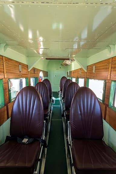Ford Trimotor Passenger Aircraft Interior