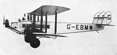 Imperial Airways de Havilland Hercules
