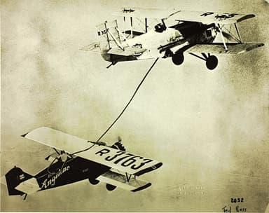 In Flight Refueling a Buhl CA-5 Airsedan