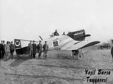 """Junkers A 20 """"Yesil Bursa"""" in Turkey"""