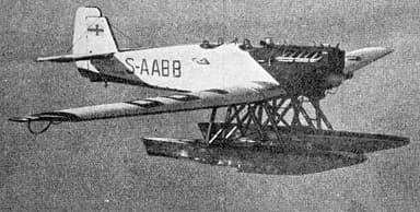 Junkers A.35-W Le Document Aéronautique August,1927