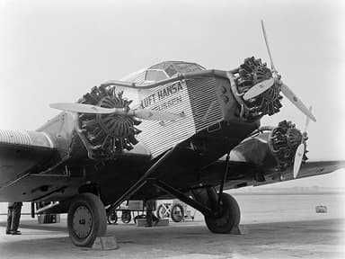 Junkers G31 In Luft Hansa Livery