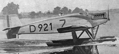 Junkers W-33 L'Aéronautique December 1926