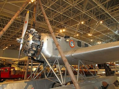 Junkers W34 at the Canadian Air and Space Museum, Ottawa