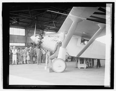 Lindbergh Spirit of St Louis, December 6, 1927