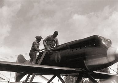 Macchi M.39 During Testing Phase