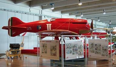 Macchi M.39 at Museo Storico dell'Aeronautica Militare at Vigna di Valle