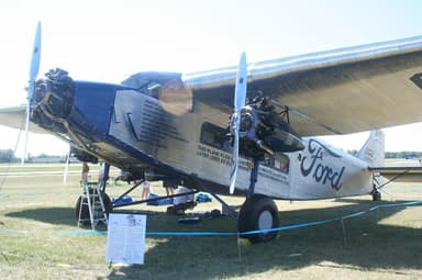 Preserved Ford Trimotor at Unspecified Location