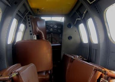 Preserved Lockheed Vega Interior