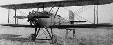 Prototype Spartan C3 with a Modified Le Rhône 9J Engine