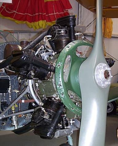Shvetsov M-11 Five-Cylinder Air-Cooled Radial Aircraft Engine