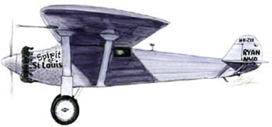Spirit of St Louis Long Range Aircraft