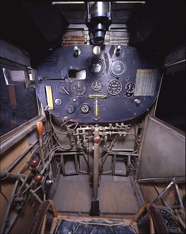 Spirit of St. Louis - Cockpit