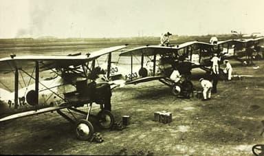 Squadron of Japanese Nakajima A1Ns