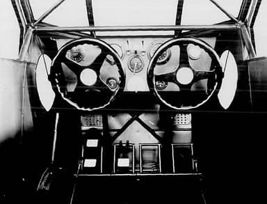 Stinson SM-1 Cockpit Photo NACA Aircraft Circular No.60