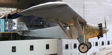 The Spirit of St Louis at National Air and Space Museum
