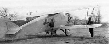 Unmarked CA-5 Airsedan Prototype