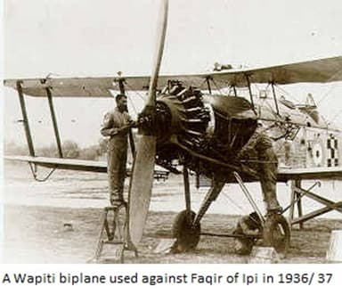 Wapiti Z Biplane Used Against the Faqir of Ipi in 1937