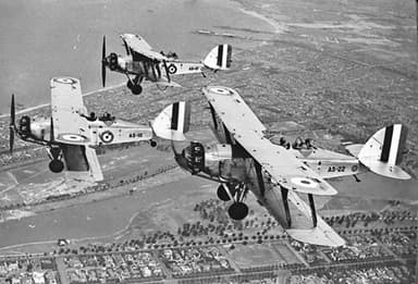 Westland A5 Wapiti IA & IIA - RAAF - Melbourne Circa 1930