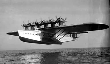 A Dornier Do X Twelve Push-Pull Engine Heavy Seaplane