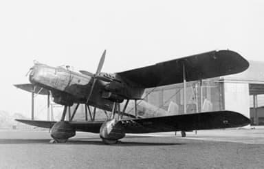 A Heyford of 102 Squadron at RAF Honington in 1938