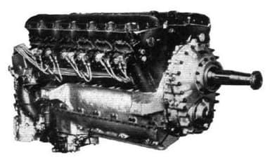 A Rolls-Royce Goshawk Engine