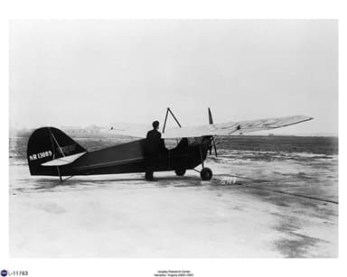 Aeronca C-2N Scout De Luxe at Langley in March 1940