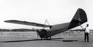 An Aeronca C-2 at Museum of Flight
