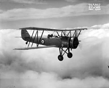 An Avro Tutor in 1937