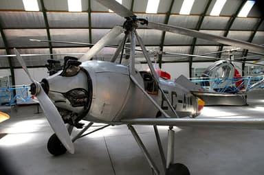 Autogiro Cierva C.19, Museo del Aire, Madrid
