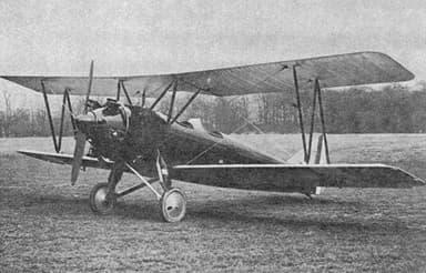 Avro 621 Trainer Left Front View NACA Aircraft Circular No.119