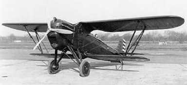 Berliner-Joyce P-16 Showing Contra Gull Wings