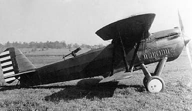 Berliner-Joyce P-16 Showing Rear Machine Gun Position
