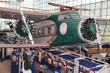 Boeing Model 80A-1 in Museum of Flight in Seattle