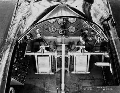 Boeing Monomail Cockpit