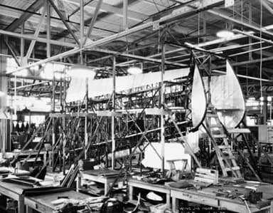 Boeing Monomail Wing Assembly