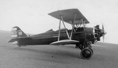 Butler Blackhawk Utility Biplane