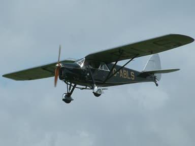 De Havilland DH.80A Puss Moth in 2003 at Shoreham Airport, England