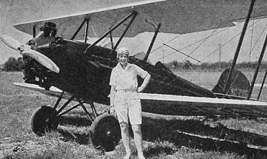 Fairchild KR-21 Aero Digest August 1930