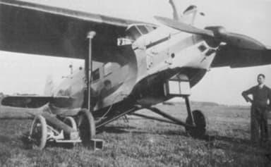 Focke-Wulf A 32 Displaying Cooling Radiator