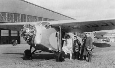 Focke-Wulf A 32 of the 'LV GmbH' Company from Wilhelmshaven