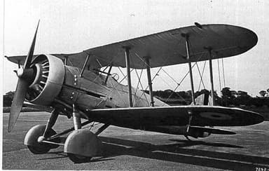 Gloster Gauntlet Predecessor S.S.19B in May 1933 with Mercury VIs Engine